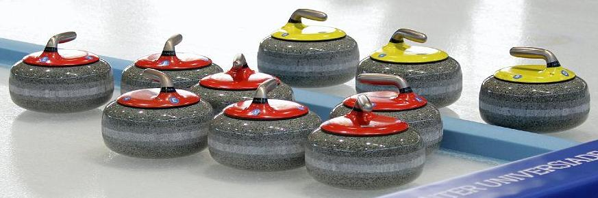 Curling! - Magazine cover