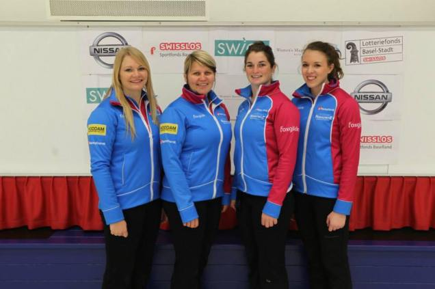 Team Fleming: Hannah Fleming, Lorna Vevers, Alice Spence, Abi Brown