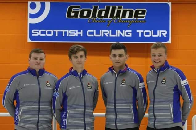 Team Bryce (L-R): Cameron Bryce, Zack Stewart, Fraser Kingan, Frazer Shaw