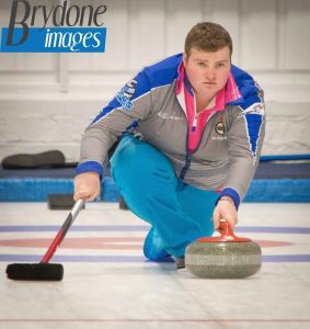 Cameron Bryce at the Kinross Junior Classic