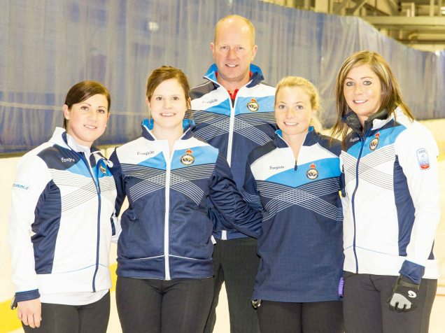 Team Muirhead with Coach David Hay - Tom J Brydone